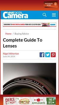 Photo Shoots & Camera Lenses apk screenshot