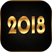 New Year 2019 Greetings icon