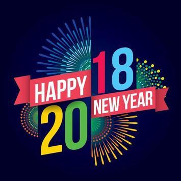 New Year 2018 Greetings apk screenshot