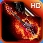 Rock Live Wallpaper HD icon