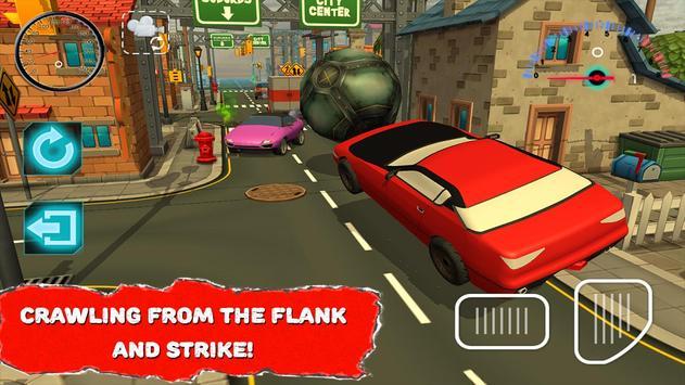 Rocket Ball League Auto apk screenshot