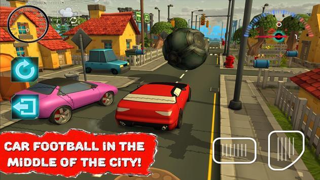 Rocket Ball League Auto poster