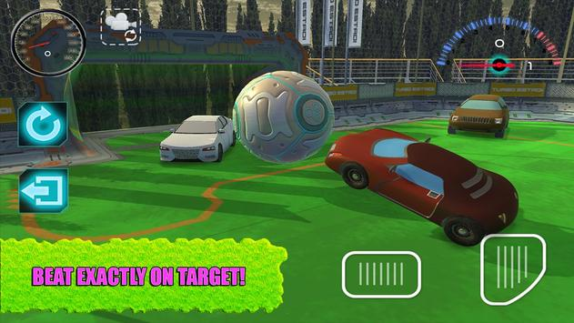 Rocketball: Football on Car 3D apk screenshot