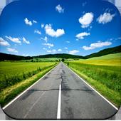 Road wallpaper icon
