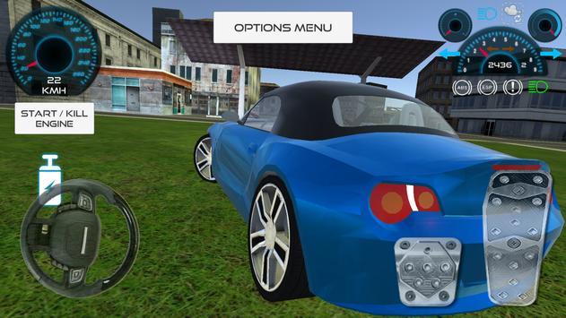Roadster Car Driving City apk screenshot