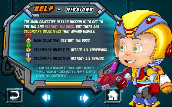 Robot Boy Helicopter screenshot 2