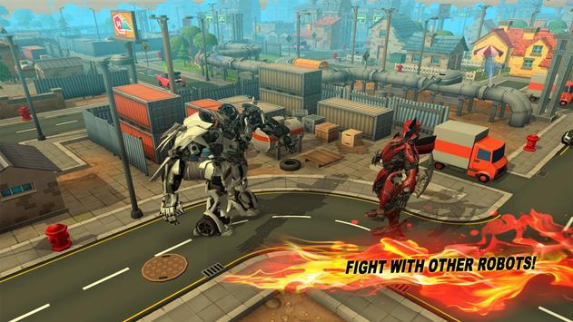 Robot X Ray Battle 3D screenshot 2