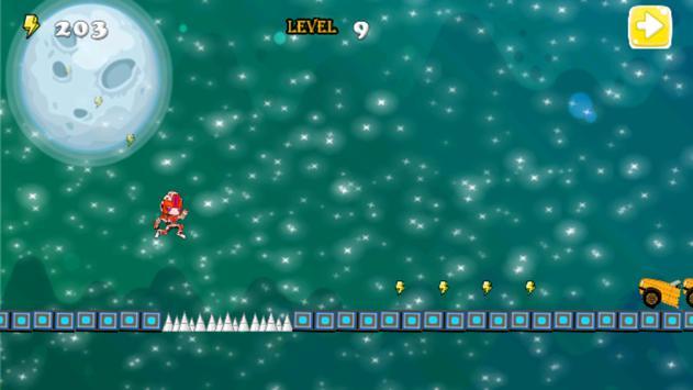 Robot Attack runner apk screenshot
