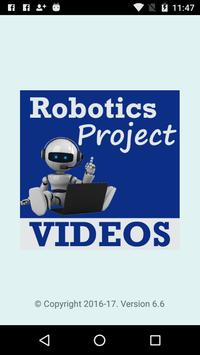 Robotics Projects Learning App poster