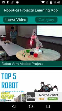 Robotics Projects Learning App screenshot 1