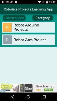 Robotics Projects Learning App screenshot 2