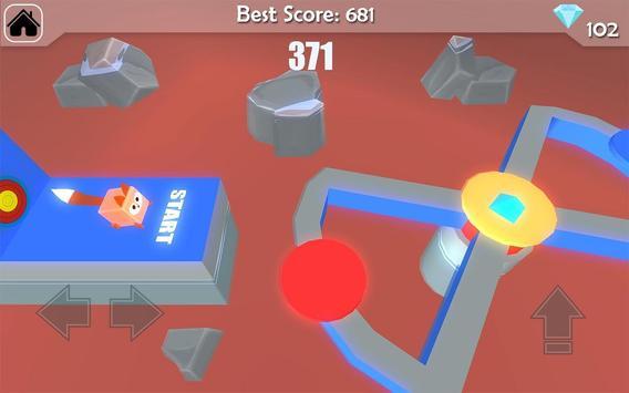 Free Fun Race  - Wipeout Run Race 3D screenshot 16