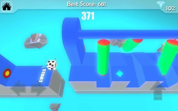 Free Fun Race  - Wipeout Run Race 3D screenshot 2