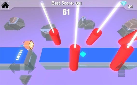 Free Fun Race  - Wipeout Run Race 3D screenshot 5