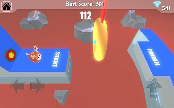 Free Fun Race  - Wipeout Run Race 3D screenshot 1