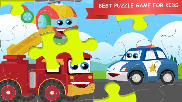RobotCar Games Puzzle screenshot 1