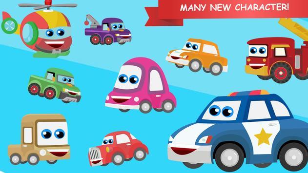 RobotCar Games Puzzle apk screenshot