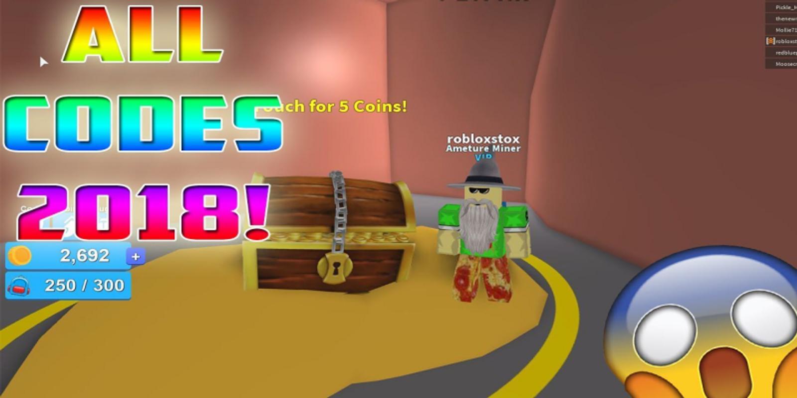 Roblox Mining Simulator Codes Free Tokens - Free Robux m