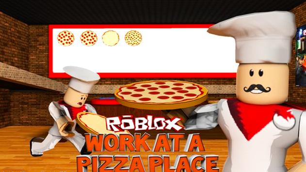 Guide For Work at a Pizza Place Roblox poster
