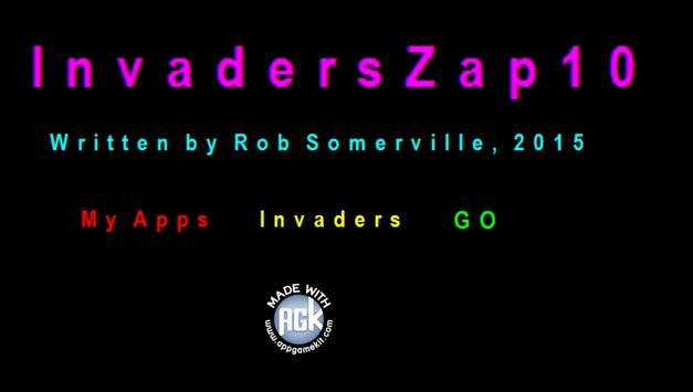 InvadersZap10 poster