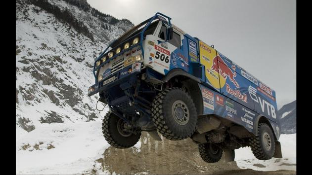 Truck Race. Vehicles Wallpapers screenshot 1