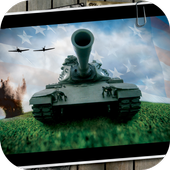 Tank. Military Wallpaper icon