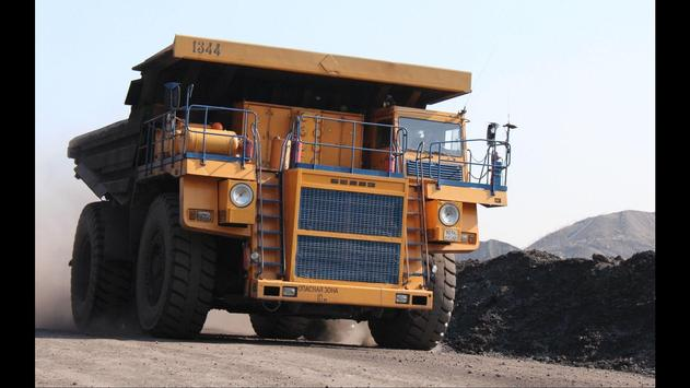 Mining Truck Wallpapers poster