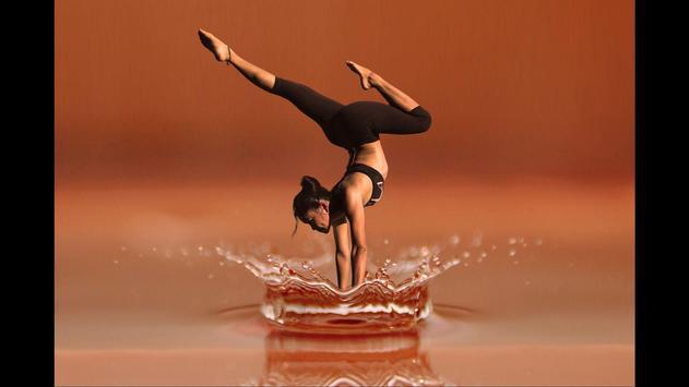 Yoga Sport Wallpaper poster