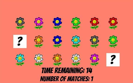 Memorize flowers in 60 seconds screenshot 1