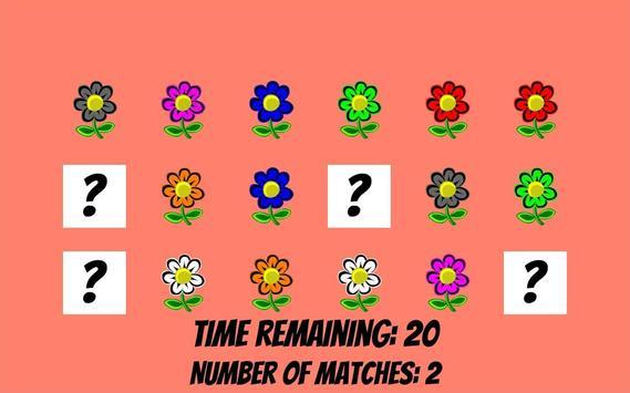 Memorize flowers in 60 seconds screenshot 2