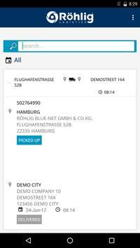 Röhlig RoadCargo apk screenshot
