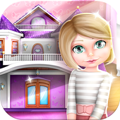 Room Designer Dollhouse Games icon