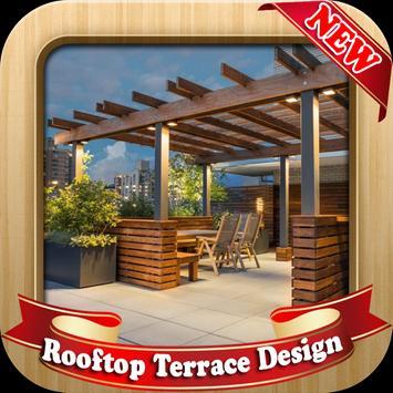 Rooftop Terrace Design poster