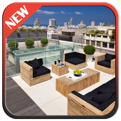 Rooftop Terrace Design icon