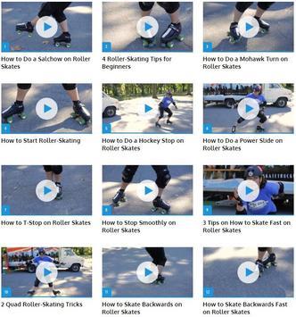 Roller Skate Skills poster