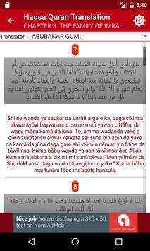 Hausa Quran apk screenshot