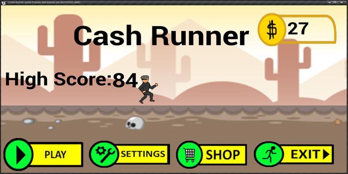 Cash Runner Cartaz