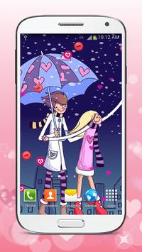 Romantic Love Live Wallpaper poster