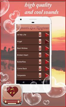 Romantic Love Ringtones screenshot 2