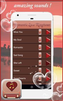 Romantic Love Ringtones screenshot 4