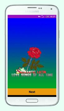Romantic Latin Love Songs of All Time apk screenshot