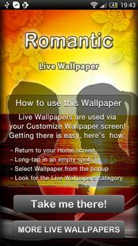 Romantic Live Wallpaper poster