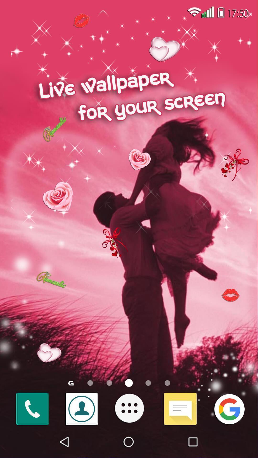 780 Wallpaper Bergerak Cinta Romantis Gratis Terbaik