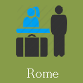 Rome Hotels and Flights icon