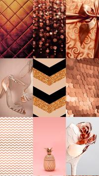 Rose Gold Wallpaper Themes poster