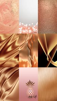 Rose Gold Wallpaper Themes apk screenshot