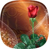 Roses Live Wallpaper 🌹 Rose Backgrounds icon