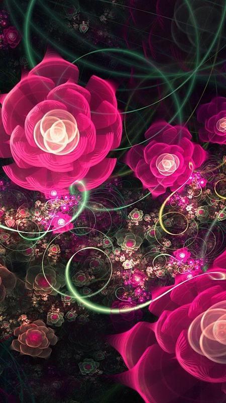 Wallpaper Animasi Bunga Mawar Indah Gambar Apk Download Gratis Personalisasi Apl Untuk