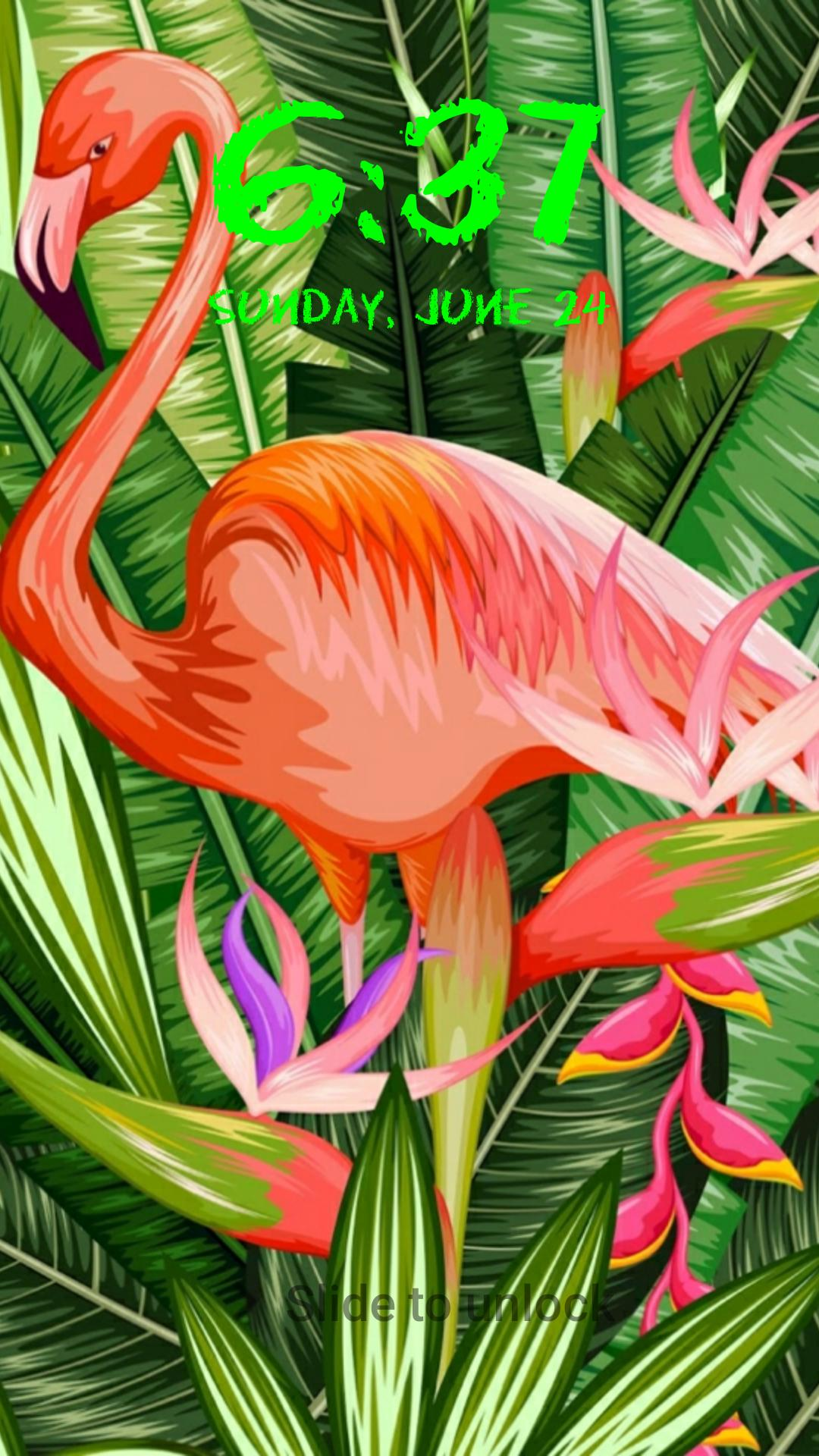 Flamingo Uhd Wallpapers Lock Screen For Android Apk Download