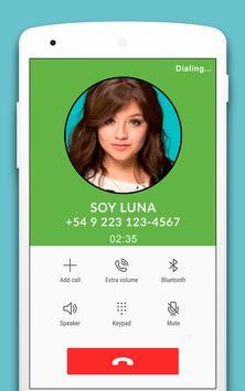 Llamada Falsa De Soy Luna - Broma screenshot 1
